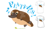 I Heart Platypus by SurrealisticPillow88
