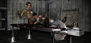 Lara Croft in Peril 1 by FatalHolds