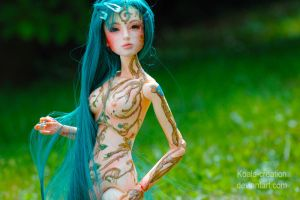 Agave: OOAK Model Doll 7 by Koala-Creation