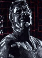 Marv - Sin City - Sketch Card by J-Redd
