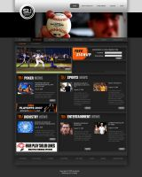 Sports Website Design by franzescoleto