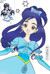 Pretty Cure: Cure White by theBlacFlower