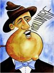 Guillaume Apollinaire by BenHeine