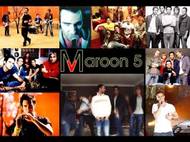 Maroon 5 Shots by tingraphix