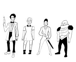 Doctor Who cast line up for animation by cloud61587