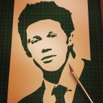 Niall Horan - Single Layer Stencil One Direction by RAMART79