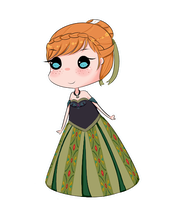 Free Anna Chibi by Sarrie-Chan