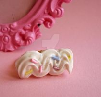 kawaii Whipped Cream Ring 2 by FatallyFeminine