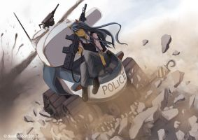 tank police by dead-robot