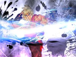 Ken Masters Tribute 2 by Mikado-Neon