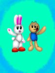 Mark and Flops 3D by TheEpicBlueKnight