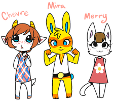 Animal Crossing Villagers by AlphaStars