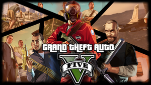 Grand Theft Auto V Poster by SpaceDelusion