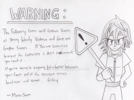 Jack The Ripper - Warning Card by ManicSam