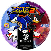 Sonic Adventure 2 Custom CD (Dreamcast) by CobraRoja