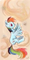Rainbow Dash by LuezA-35