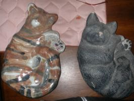 ceramic kitty by alcnaurewen