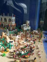 100 5741 Playmobil in the Entrego Asturias by fueledbyfreestock