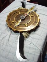 Takenaka Hanbei's Bladed Sundial by questionshinigami