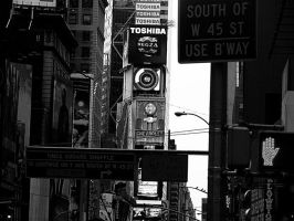 Ahh, Times square by CarianneCouture