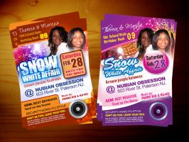 Birthday Party Flyer by owdesigns