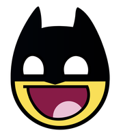 Batman Awesome Smiley by E-rap