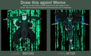 Draw This Again: Into The Abyss by T0xicEye