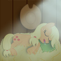 After a day of applebucking by WingedJustice