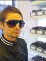 His shades are cooler. :D by karinche