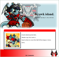 Krawk island S1 2012 (journal skin) by DepaX3x