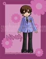 Ouran Host Club- Haruhi by snowbunnyluv