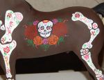 Breyer Day of the Dead Stallion 2 by AdeCiroDesigns