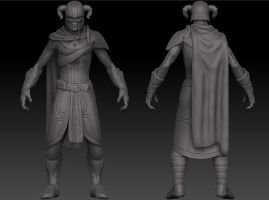 Undead Knight - high poly by GastonBR