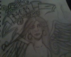 Angel with Banner by iluvvanessa