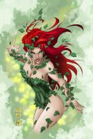 Poison Ivy colour by AlexxiaTM by AlexxiaTM