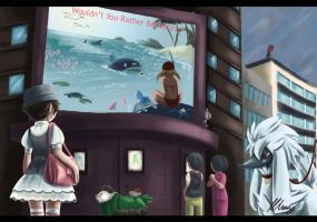 Wouldn't You Rather Be In Hoenn..? by amurderofcrowws