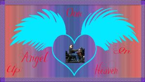 Our Angel Up In Heaven by deviantdonswife