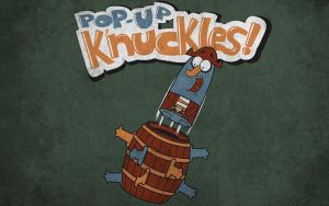 Pop - Up K'nuckles T-shirt by alsnow