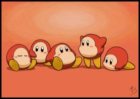 Waddle Dees by AngelynnB