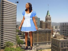 Alice in Oakland by lowerrider