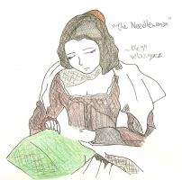 The Needlewoman by yeaboikat