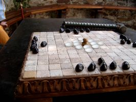 Hnefatafl Board 02 by Steam-HeART