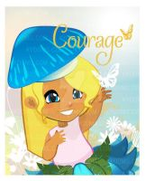 KYOOMS Inspirational Art - Courage by vectorgurl