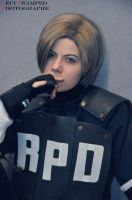 Leon Kennedy 'Do they want some brains..?' by Hirako-f-w