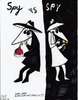 Spy VS Spy by Camila-Andromeda