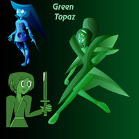Green Topaz Fusion for Britishgirl2012 by Keytee-chan
