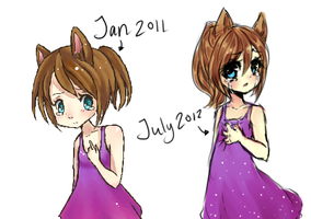 Improvement 1, 1/2 year by Pemiin