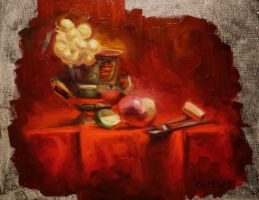 Red still life by iancjw