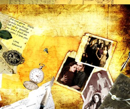 Edward's Scrapbook by BellaX3Edward