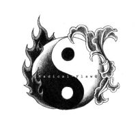 Yin and Yang by RadicalFlaw